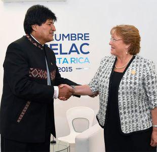 Evo Morales felicitó a Michelle Bachelet por su nuevo cargo en Naciones Unidas