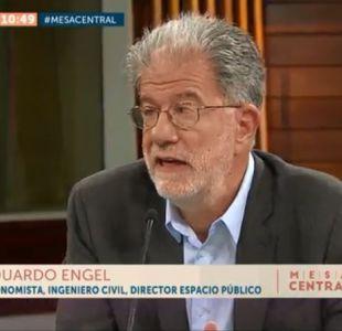 Eduardo Engel sobre Gobierno de Piñera: Se crearon expectativas que no se están cumpliendo