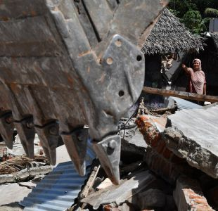Fallecidos tras terremoto en Indonesia aumentan a 436