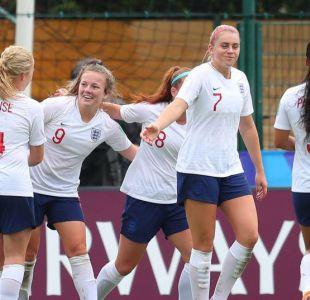 [VIDEO] El extraño gol de una jugadora inglesa en el Mundial Femenino Sub 20