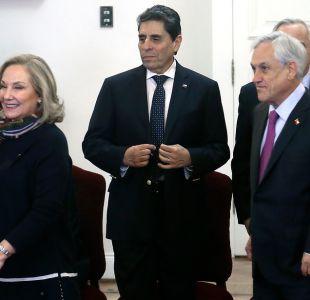 [VIDEO] Piñera agradece lealtad de Mauricio Rojas y le ofrece seguir colaborando en el Gobierno