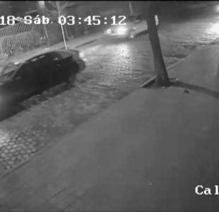 [VIDEO] Así fue la balacera entre conductores de Uber y taxistas