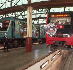 [VIDEO] Así son los nuevos vagones del Metro made in Chile