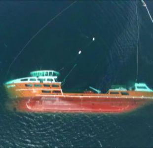 [VIDEO] Nadie quiere recibir al barco hundido en Chiloé