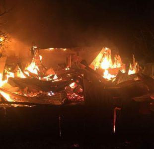 [VIDEO] Diez mujeres fallecidas tras incendio en hogar de ancianos en Chiguayante