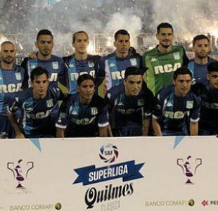 Eugenio Mena y Marcelo Díaz debutan con un empate en Racing