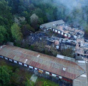 [VIDEO] Piñera viaja a Chiguayante tras trágico incendio en hogar de ancianos