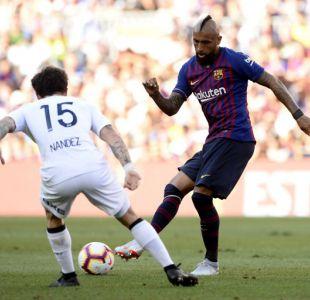 Barcelona golea a Boca Juniors en el debut como titular de Arturo Vidal
