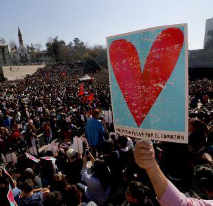 Acto por la Memoria y los Derechos Humanos se realiza con masiva concurrencia