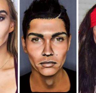 [FOTOS] La maquilladora que te puede convertir en Ronaldo, Jack Sparrow o cualquier celebridad