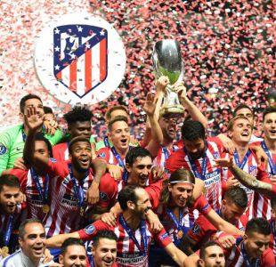 Atlético de Madrid derrotó al Real Madrid en la Supercopa de Europa