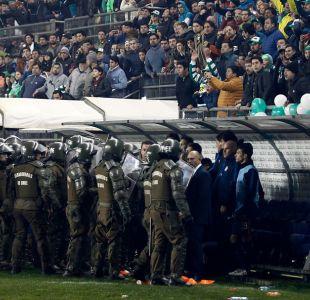 Preparador de San Lorenzo fue agredido tras eliminación de Deportes Temuco