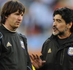 """[VIDEO] """"Que no te usen más"""": El duro consejo de Diego Maradona a Lionel Messi"""