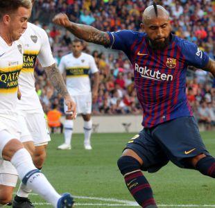 DT de Barcelona duda de la titularidad de Arturo Vidal: Se tiene que poner bien
