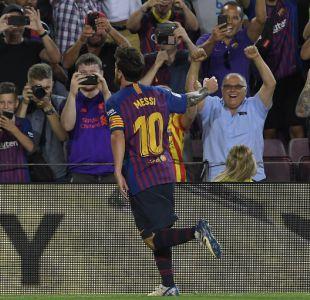 Barcelona debuta con un triunfo en la Liga con presencia de Arturo Vidal