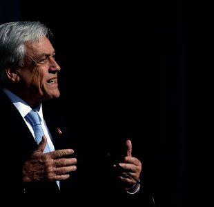 Presidente Piñera: Los pueblos sin memoria están condenados a repetir su historia
