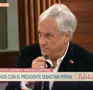 Sebastián Piñera sobre aborto libre: Yo soy partidario de defender la vida