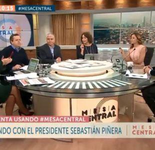 [VIDEO] Revive la entrevista completa del Presidente Sebastián Piñera en Mesa Central