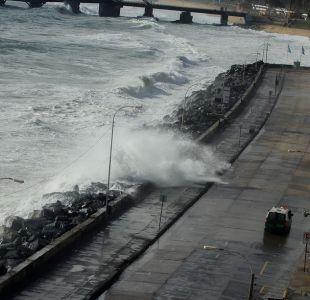 Onemi declara alerta temprana preventiva por marejadas anormales desde el 22 al 25 de diciembre