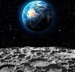 La evidencia definitiva de la existencia de agua en forma de hielo en los polos de la luna