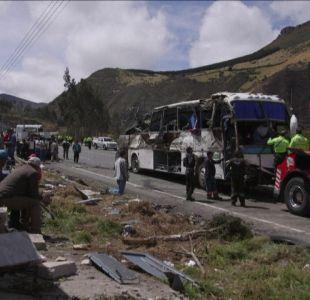[VIDEO] Narcobus tenía como destino Chile