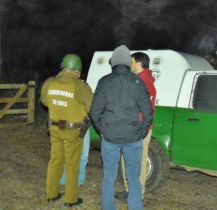 Nuevo ataque incendiario a camiones y maquinaria en La Araucanía
