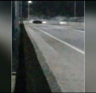 [VIDEO] San Rosendo: Usan puente para hacer trompos