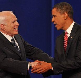 Ex Presidente Obama reacciona a muerte de John McCain