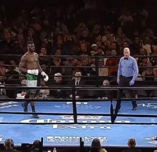 [VIDEO] Un boxeador nigeriano se adjudicó la pelea más rápida en la historia