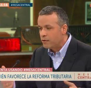 Óscar Landerretche: No diría que la reforma tributaria es injusta, la economía chilena es injusta