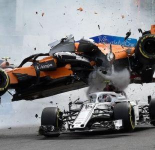 Qué es el halo, el criticado dispositivo de Fórmula 1 que protegió a Leclerc en su grave accidente