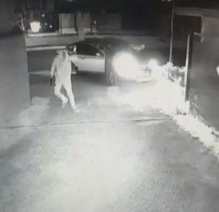 [VIDEO] Conductor grabó portonazo del que fue víctima
