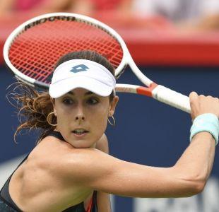 [VIDEO] Lío en el US Open: Mujer tenista fue sancionada por quitarse la camiseta