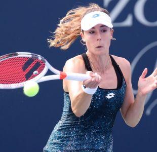 """[VIDEO] US Open, acusado de sexismo, """"lamenta"""" advertencia a Cornet por cambiarse en la cancha"""
