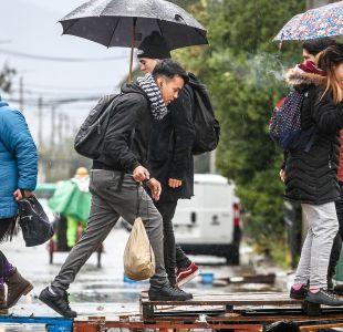 [VIDEO] Lluvias débiles caerán este jueves y viernes en Santiago
