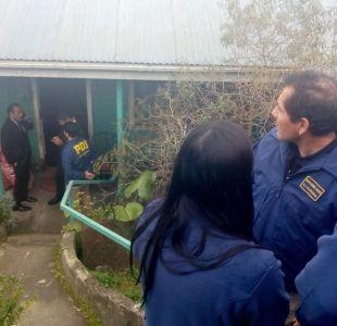 [VIDEO] PDI investiga hallazgo de mujer descuartizada en Coronel