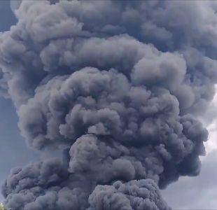 [VIDEO] ¿Qué tan tóxica es la nube que se generó en Maipú tras el incendio?
