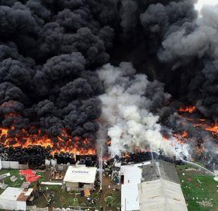 [Minuto a Minuto] Incendio en Maipú está controlado en un 80%