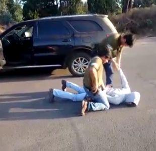 [VIDEO] Blanqueaban autos con patentes falsas