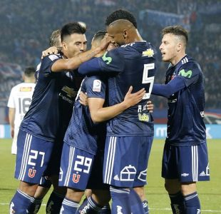 Con goles de Saavedra y Espinoza la U venció con lo justo a Deportes Temuco