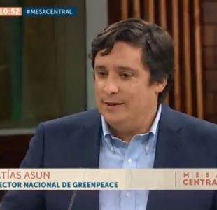 [VIDEO] Director nacional de Greenpeace: Deberían cerrarse las industrias que están contaminando