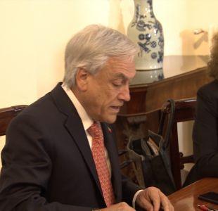 [VIDEO] Conflicto entre Piñera y la oposición