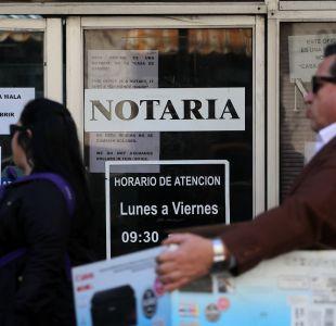[VIDEO] Proyecto de ley para modernizar notarías: ¿Qué trámites tendrán cambios?
