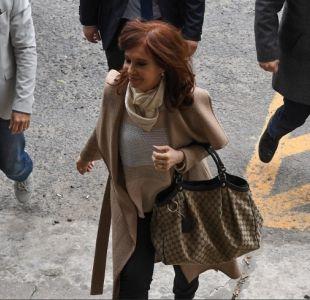 Cristina Fernández comparece por segunda vez ante el juez por caso de corrupción en Argentina