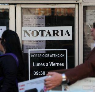 [VIDEO] Asociación de Notarios rechaza figura del fedatario en proyecto del gobierno