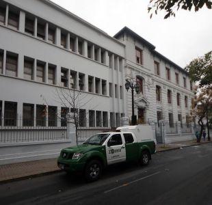 [VIDEO] Cinco carabineros quedaron lesionados tras incidentes en Liceo de Aplicación