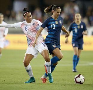 La Roja Femenina cae nuevamente frente las campeonas del mundo