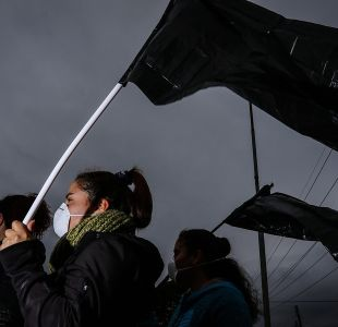 Alumnos de Quintero se toman colegio ante nuevo episodio de contaminación