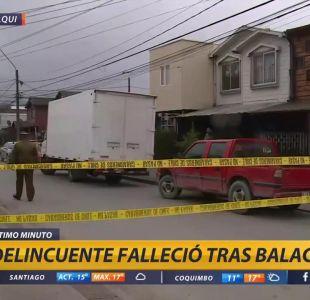 [VIDEO] Delincuente falleció tras ser baleado tras asalto en Hualqui