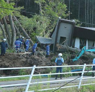Al menos un muerto y varios heridos deja sismo de magnitud 6,6 en Japón